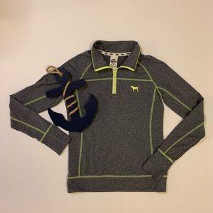 PINK Ultimate Quarter Zip Sweatshirt